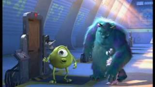 Monsters a.s. - pokazené scény