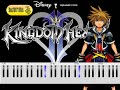 [REQ] Kingdom Hearts - Hikari Piano Tutorial (Part 2/2)