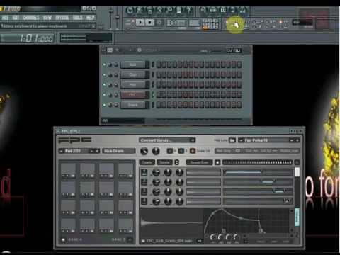 FL Studio Tutorial FPC Drum Machine - Trigger Pads with Computer Keyboard