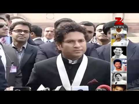 Sachin Tendulkar dedicates Bharat Ratna to mother