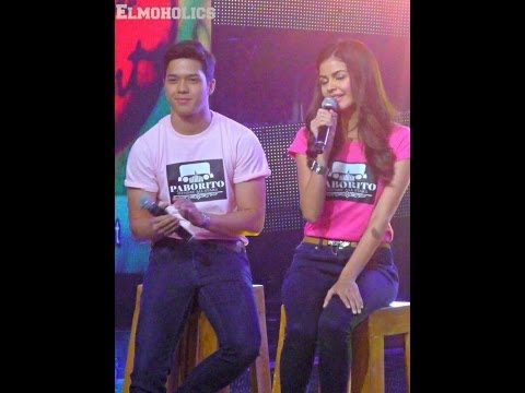 janine gutierrez & elmo magalona sunday all star 1-12-14