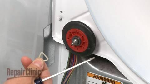 Dryer Drum Roller Replacement Duet He3 Dryer Repair