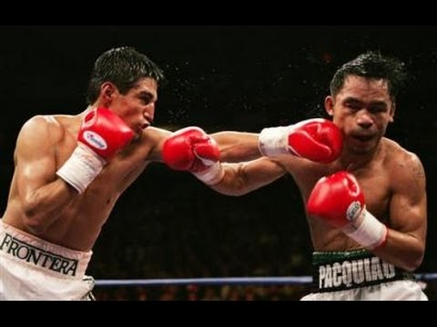 Many Pacquiao vs  Erik Morales 2 2006 01 21