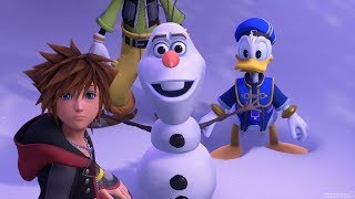 Kingdom Hearts 3 Frozen Reveal Trailer - E3 3018