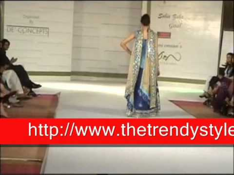 Pakistani formal dresses fashion show by The Trendy Style.wmv