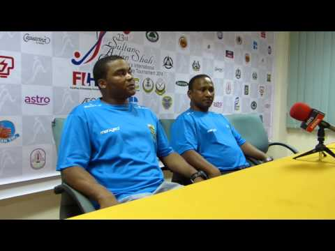 2014 Sultan Azlan Shah Cup - Day 1 - South Africa Press Conference