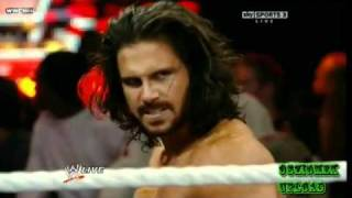 The Miz Vs. John Morrison Falls Count Anywhere Match For