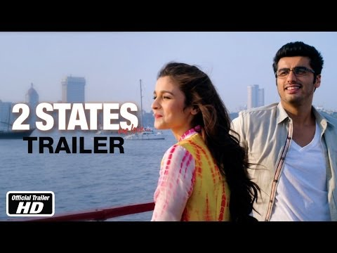 2 States - Official Trailer - Arjun Kapoor, Alia Bhatt - YouTube
