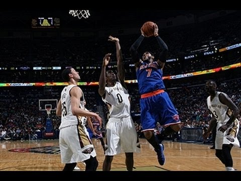 Carmelo Anthony Drops 42 on the Pelicans