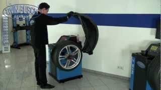 Reifenauswuchtmaschine Von Twin Busch ® Germany TW F-00