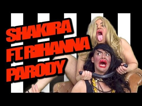 Shakira ft. Rihanna - Can't Remember to Forget You PARODY