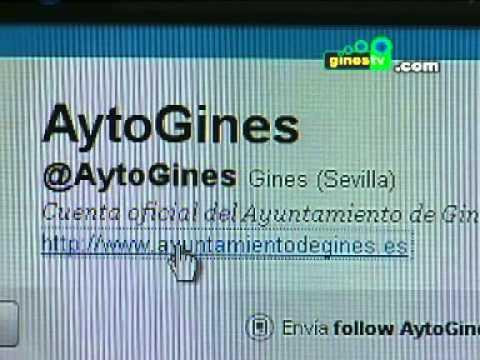 El Ayuntamiento de Gines ya está presente en la red social Twitter