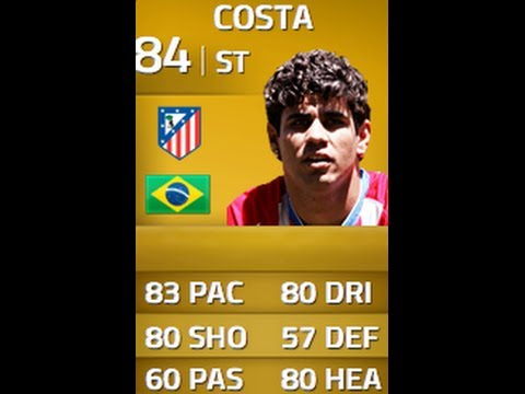 FIFA 14 | UPGRADED DIEGO COSTA 84 In-Depth Review w/ Gameplay!
