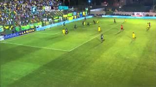 El Halcón estuvo cerca. Defensa 1 - San Lorenzo 2. Fecha 2. Primera División 2015. FPT.