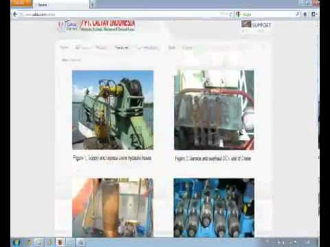 specialized in Hydraulic system and Electrical system, Servicing, overhaul and Commissioning for ship deck machineries and Ship deck crane, including Trading and other supplies for marine and offshore industrie http://www.caltav.com