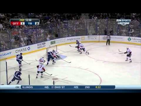 Ottawa Senators vs  Tampa Bay Lightning 23.01.2014