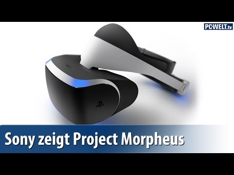 "Sony zeigt Virtual-Reality-Brille ""Project Morpheus"""