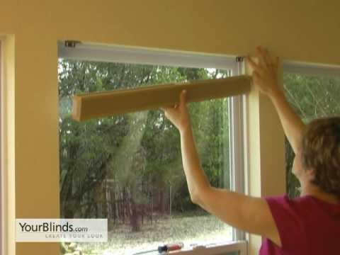 How To Install Cellular Shades Inside Mount Yourblinds