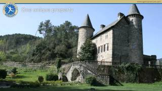16th century castle for sale in the South of France in the Gard