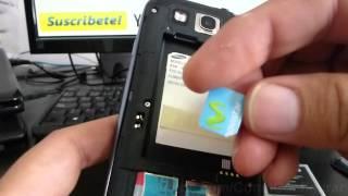 Como Instalar La Sim Card Al Samsung Galaxy S3 Español