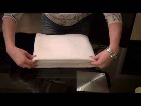 _=_Relaxing Towel Folding Tutorial_=_