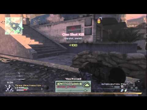 Insane Mw2 Trickshot Shot Mid Game!!