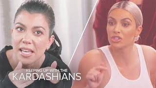 Kardashian Family Feuds All Sisters Can Relate To | KUWTK | E!