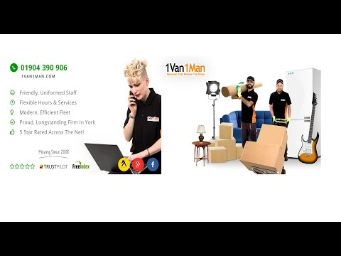 Removals in York - Man with a Van York - House & Home Removals Stress-