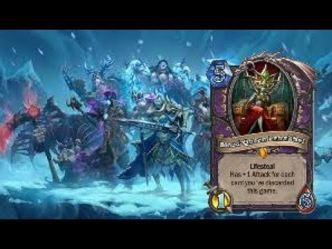Hearthstone: beating blood queen lana thel with a 35 legendary deck!