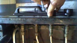 Desarmar y armar perillas de cocina
