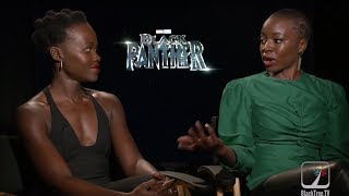Black Panther on BlackTree: Lupita Nyong'o and Danai Gurira