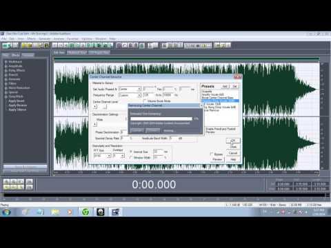 Tách Beat bằng Adobe Audition 1.5