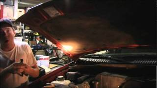 Replacing The Hood Gas Struts 2002 Ford Explorer