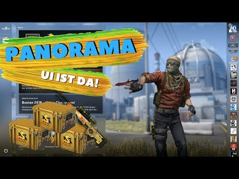 WTF? NEUES CS:GO Design | Panorama UI ist da! | BIG Case Opening and Giveaway