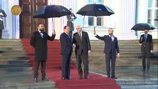 الرئيس السيسي يلتقي نظيره الألماني فرانك