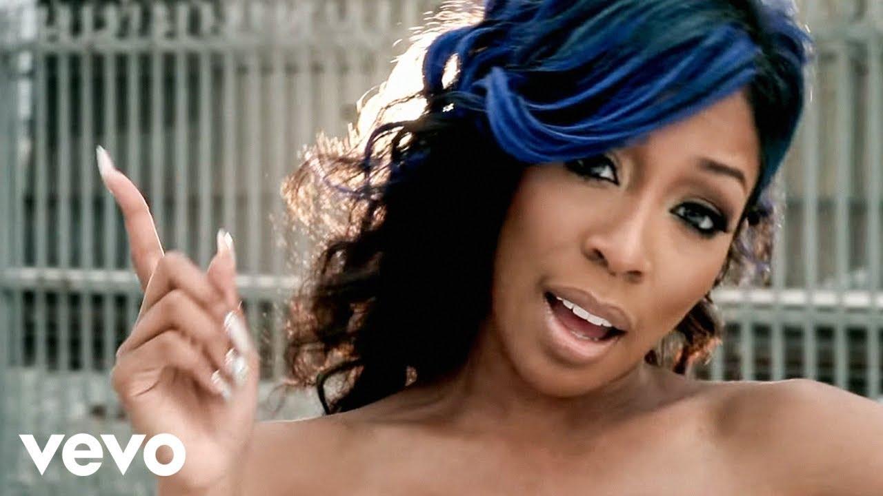 K. Michelle Blue Hair