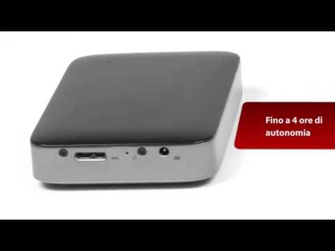 Buffalo MiniStation Air 500GB Wi-Fi Portable Storage - Italian