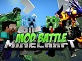 Minecraft: SUPER HERO MOD BATTLE! - HULK VS WOLVERINE!