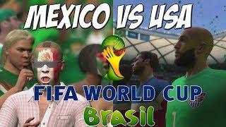 2014 Fifa World Cup Demo Mexico Vs USA