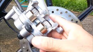 Como Trocar A Pastilhas Do Freio A Disco Honda CG 150