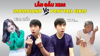 Cris Devil Gamer LẦN ĐẦU XEM MOMOLAND VS PONYTAIL GIRLS | CrisDevilGamer Reaction