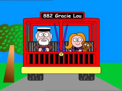 Gracie Lou - The wheels on the bus