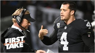 Derek Carr is under the most pressure this season in the AFC West – Domonique Foxworth | First Take