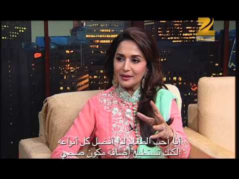 Madhuri Dixit on Aalam Bollywood - part 1