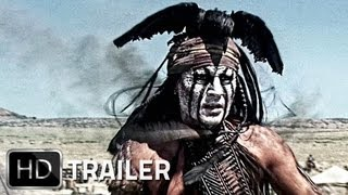 LONE RANGER Trailer German Deutsch HD 2013 Johnny Depp