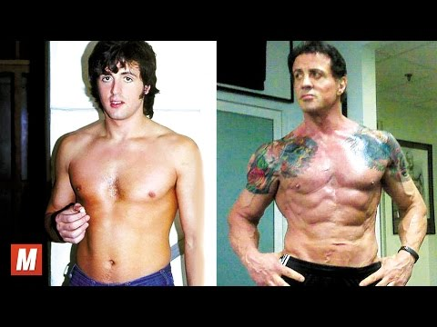 Sylvester Stallone   From 7 To 70 Years Old