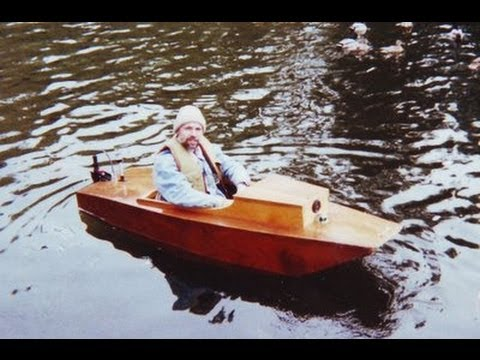 Plywood electric boat plans kits