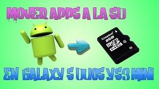 Como Pasar Aplicaciones Android A La Tarjeta SD En Samsung