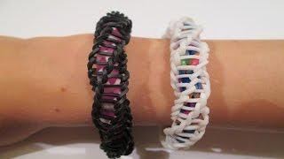 "Rainbow Loom Spirilla Bracelet (Variation Of The ""Frozen"