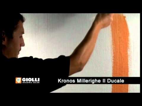 Gollio - tynk dekoracyjny Kronos i farba dekoracyjna Il Ducale